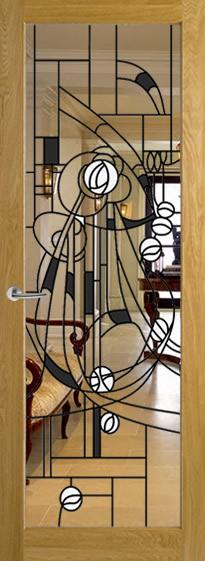 Pattern 10 Stained Glass Mackitnosh