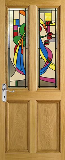 Mackintosh Victorian Door