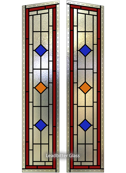Richmond Door Leaded Glass Panels