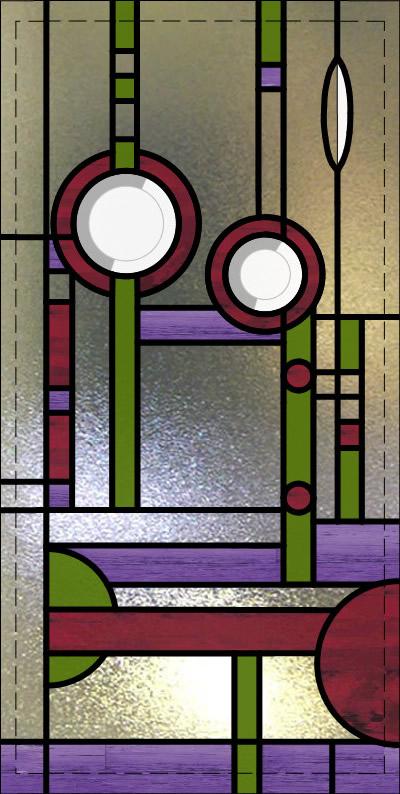 Mackintosh Leaded Glass